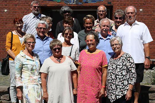 Skolekammerater Mødtes Efter 50 år Bornholmnu