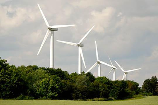 Elproduktion på land og til vands