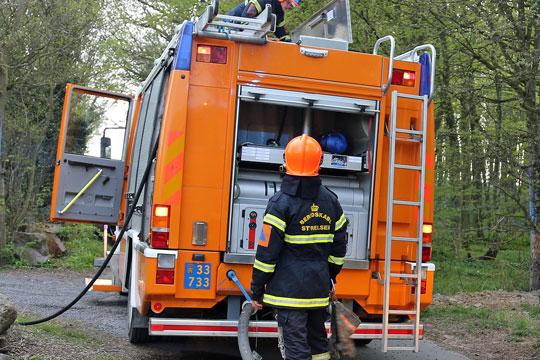 Kreativ kontrakt om brandslukning