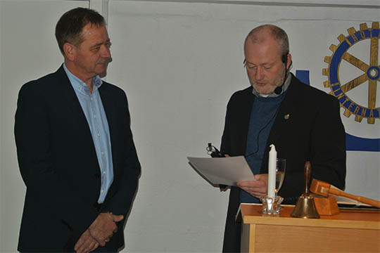 To nye i Nexø Rotary Klub