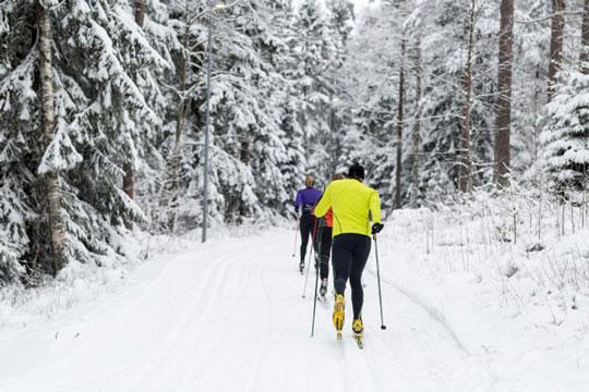Vand og chokolade til skiløbet