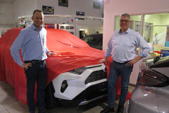 Ny Toyota Rav4 afsløres på VIP-aften