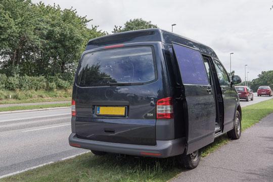 Fem bilister havde for høj fart i Almindingen