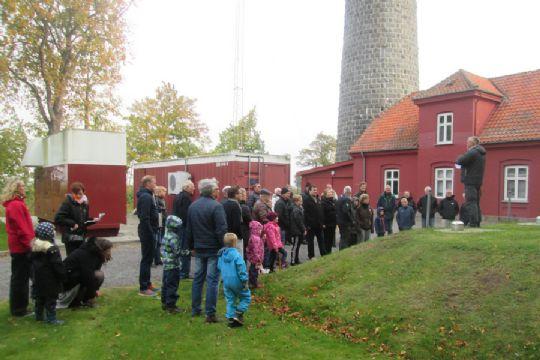 Masser af besøgende i NATO-tårnet