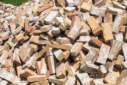 BRK har 41 tons brugte mursten