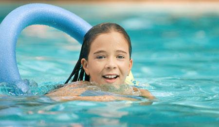 Kæmper om at svømme længst
