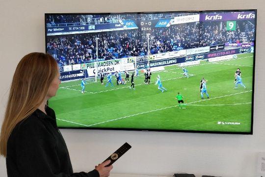 Bornfiber tilbyder væld af sportskanaler