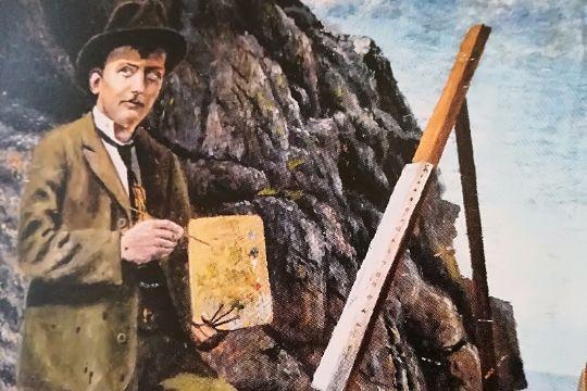 Årbog udødeliggør Svaneke-kunstner