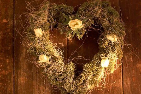 Bind din helt personlige julekrans