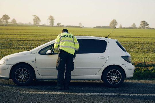 En enkelt bilist gik i fartfælde
