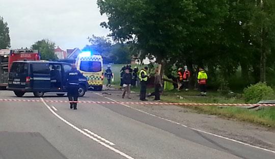 Færre ulykker på Bornholms veje