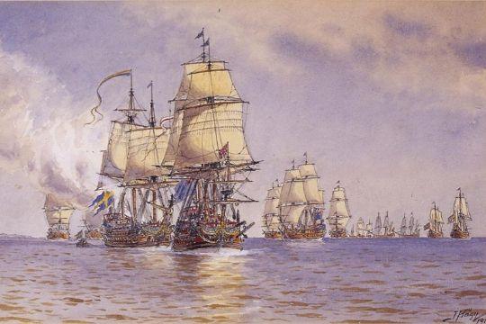 15 svenske skibe forliste på Sose Rev