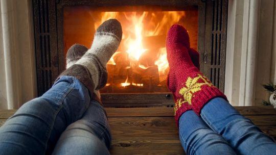 Kævlen skulle brænde hele julen