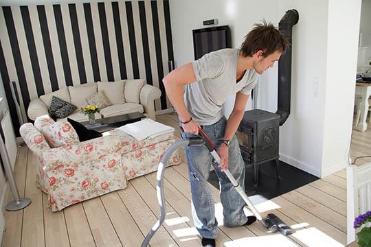 Gør huset rent med omtanke