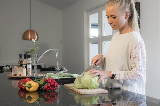 Valg af bordplade i køkkenet