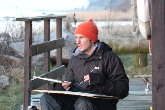 Ben Woodham udstiller i Svaneke