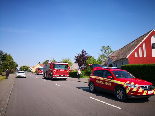 Brand i Aakirkeby