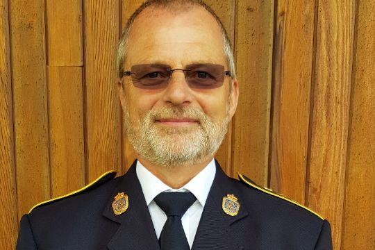 Hæderstegn til brigadechef