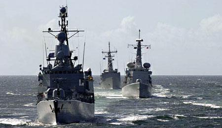 NATO og Rusland på øvelser i Østersøen