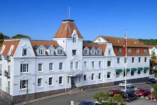 Underskud på historisk hotel i Sandvig
