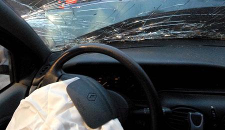 Trafikuheld i Aakirkeby