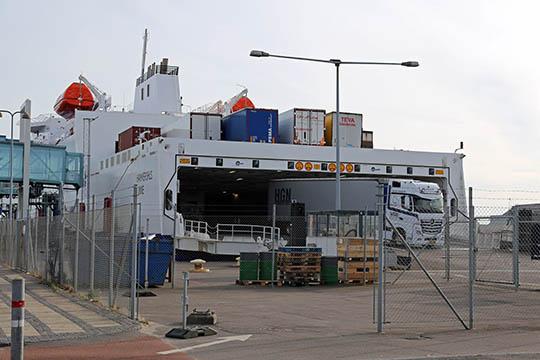 Marginalt mere fragt på færgerne