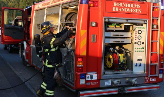 Brand i villa i Aarsdale