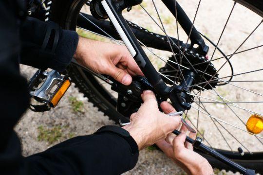 Cykelkæden skal være i orden