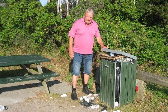 Affaldskaos forhindret på Balka Strand
