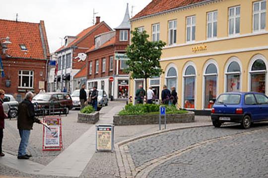 Lille fremgang i befolkningstallet i Allinge-Sandvig