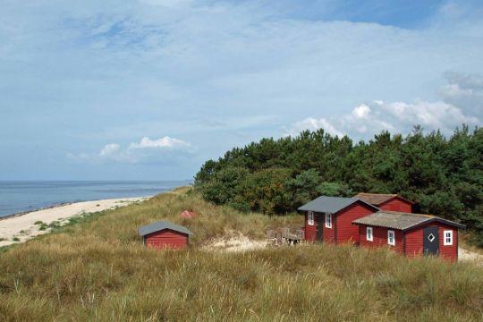 Ophold på og ved Bornholms strande
