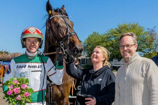 Bornholms mest vindende hest i banedebut