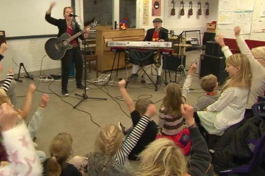 Koncert med børns egne sange