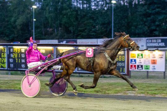Betina Lund i Top5 for første gang i år