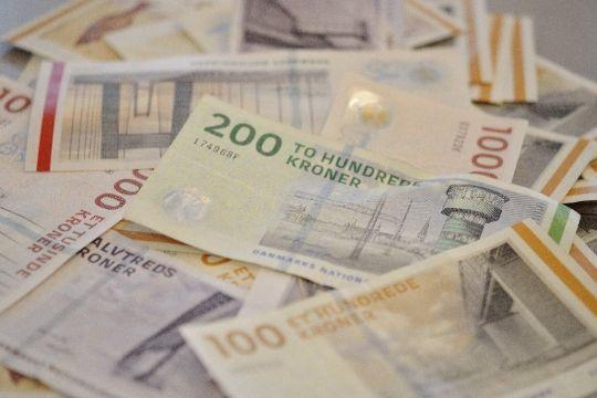 Kommunekassen bugner med penge