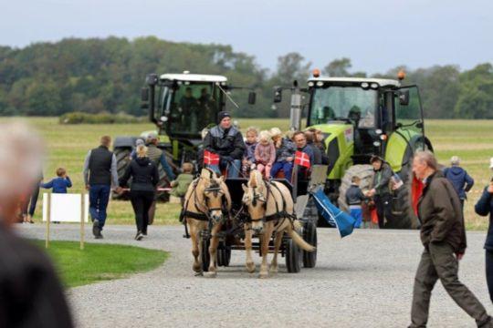 Knap 1.200 besøgte åbent landbrug