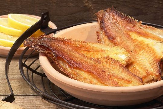Spis masser af fisk