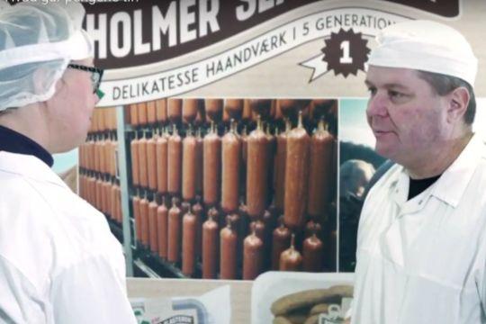 EU har hjulpet slagter med nye pølser