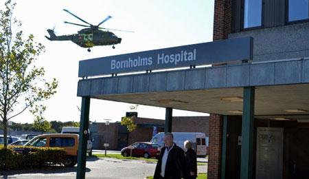 Turister gav ekstra travlhed på hospitalet