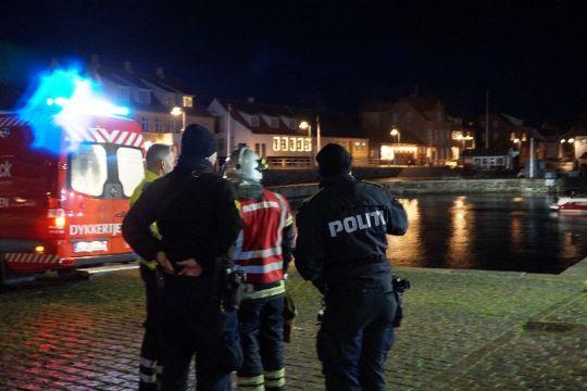 Førerløs bil kørte i havnen i Allinge