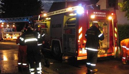 Hus i Rønne ubeboeligt efter brand