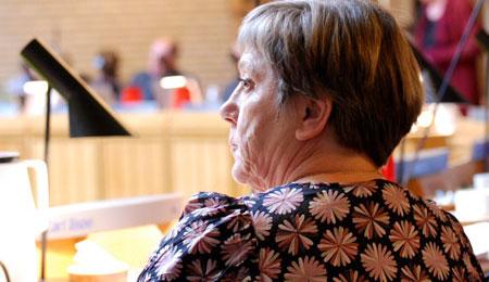 Leila Linden forsvarer Bornholms Hospital