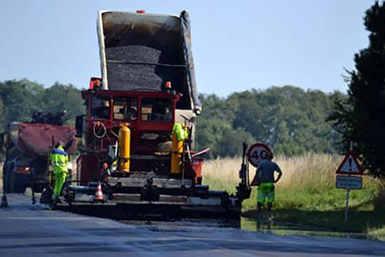 Vejnettet får 9,2 mio. kr. til ny asfalt