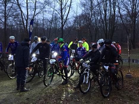 Cykelløb i mørke