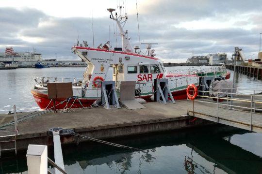 Passager blev evakueret fra skib