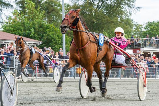 Bornholmer fik præmier i begge løb i Sverige
