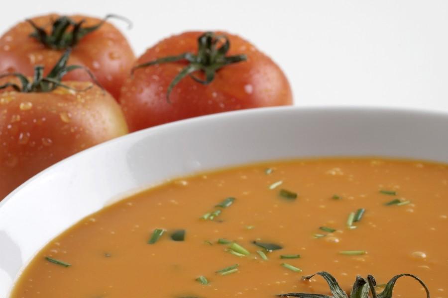 En tomatsuppe der varmer helt ind i sjælen