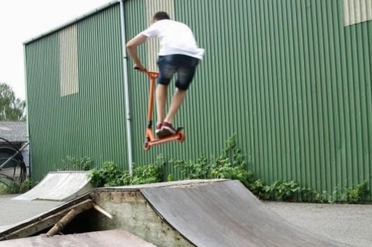 Fond støtter skaterpark i Rønne