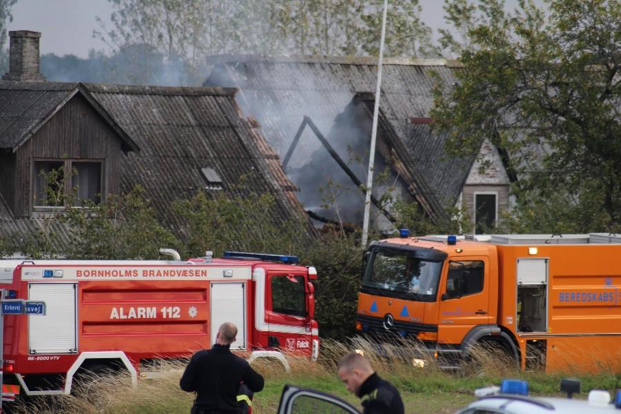 Fire alpakaer omkom efter brand