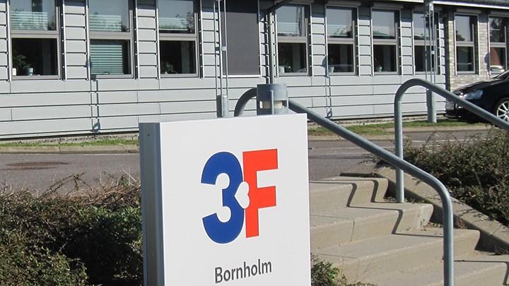 Antallet af ledige doblet i 3F Bornholm